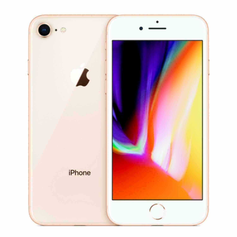 Apple iPhone 8 Fully Unlocked 64GB 4G LTE -Gold