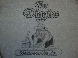 The Diggins gray t shirt size L Weaverville, California - $17.81