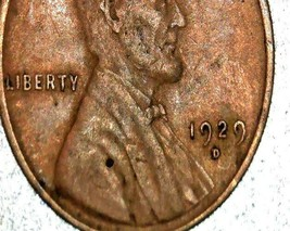 Lincoln Wheat Penny 1929 P, 1929 D and 1929 S AA20-CNP2178 Antique