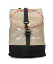Rains Unisex Drawstring 1328 Backpack Holographic Beige OS - $101.16