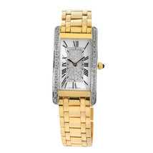 Geneve 18K Yellow Gold Watch With Customized Bezel - $7,870.50