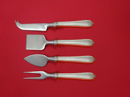 Pine Tree by International Sterling Cheese Serving Set 4 Piece HHWS  Custom - $289.00