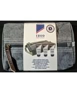 NEW Gift Set Izod 4 pc. Facial Cleanser Body Wash Body Lotion Travel Bag  - $7.87
