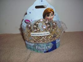 NEW  DISNEY STORE FROZEN ANNA GOLDEN TIARA CROWN COSTUME DRESS-UP Princess  - $24.99