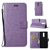 Imprinted Unicorn Pattern Wallet Leather Cell Phone Case for Nokia 8 - P... - $7.80