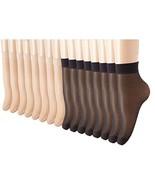 NIP Petsvv 16 Pairs Women's Size 5-7 Ankle High Sheer Wire Socks - $14.80