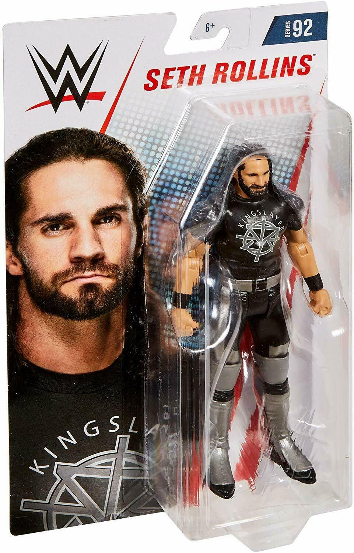 WWE Basic Figure Series 92 Action Figure Seth Rollins Mattel 2018