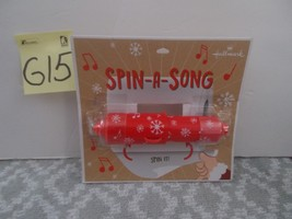 Hallmark Christmas Spin a Song Toilet Paper Holder image 1
