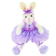 WEWILL Easter Gift Bunny Original Adorable Plush Ballerina Bunny Stuffed... - $21.86