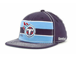 Tennessee Titans - Reebok Nfl Scrimmage Flexfit Football CAP/HAT -SMALL/MEDIUM - $19.94