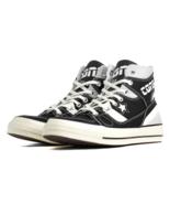 Converse Mens Chuck 70 E260 Hi 166462C Black/White Multi Sizes NWB - $74.98