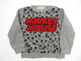 Mickey Mouse Disney SweatShirt Kid's Size 4T - $9.89