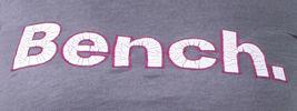 Bench Urbanwear Womens Smoked Pearl Gray Deckhand Logo T-Shirt BLGA2358 NWT image 3