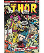 The Mighty Thor Comic Book #212, Marvel Comics 1973 VERY FINE- - $12.84
