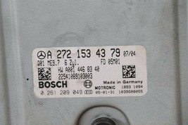Mercedes Engine Control Unit Module ECU ECM A2721534379 A-272-153-43-79 image 2
