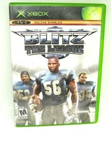 Blitz: The League for Microsoft Xbox 2005 M-Mature w/ Manual & Case - $7.70