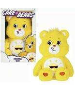 "New Care Bears 14"" Medium Plush Soft Huggable Material Funshine Bear Retro - $29.67"