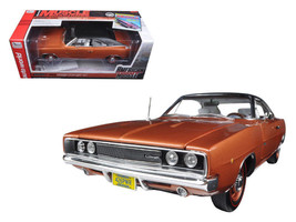 1968 Dodge Charger R/T Bronze Poly with Black Vinyl Top Limited to 1002p... - $119.95