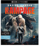 Rampage (4K Ultra HD+Blu-ray) - $13.95