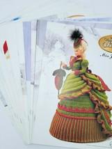 Vintage Complete12 Month Lovely Barbie/Doll Crochet Patterns Victorian L... - $42.56