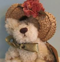 "JOINTED PLUSH 6"" Boyds Bears Garden Friends FLOWERS ""MINNIE"" - $19.80"