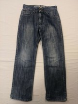 Nautica Boys Size 12 Mid Wash Blue Denim 5 Pocket Straight Leg Slim Jean... - $9.00