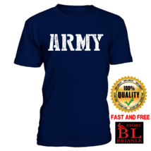 US Army Navy Military Physical Round Neck Short Sleeve Casual T-Shirts F... - £12.13 GBP+