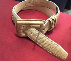 Brighton Classics Beige Lizard Belt S 28 - $13.85