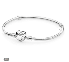 PANDORA barcelet Silver Charms 16cm / 6.3 in  Bead - $9.99