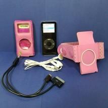 Apple iPod Nano 1st Generation Black 2GB A1137 Bundle Tested Working - $19.79
