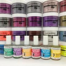 CUCCIO Pro Dipping Dip Powder Polish Nail Color BIG SELECTION! From 3023... - $8.27+