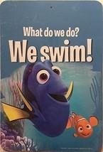 Finden Dory Nemo Disney 'S Pixar Was Do Wir Tun? We Schwimmen! Kunst Mauer Dekor - $5.41