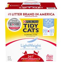 (19.5 lbs.) Purina Tidy Cats LightWeight 24/7 Performance Clumping Cat L... - $37.61