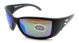 Costa Del Mar Sunglasses Blackfin 62-17-120 Matte Black/ Green Mirror 58... - $245.00