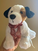 """Webkinz Jack Russell Terrier HM168 Soft Plush Animal Ganz W Code Tag 11"""" Used - $18.70"""