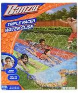 BANZAI Triple Racer Water 16 Feet Long, Slide - $51.49