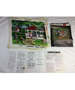 1982 Dimensions Partially Completed needlepoint Kit 2204 Concert Park No... - $32.70