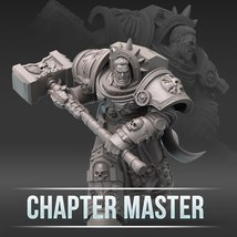 28mm wargaming and collectible miniature, Chapt... - $20.00