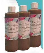 Nurture Your Body With Nature 100% African Creamy Black Soap - $8.00 - $17.00