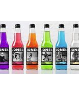 Jone Soda Variety Packs 12 ounce bottles 6 Bottles 6 Flavors Randomly Ch... - $12.99