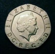 Rare 2008 Undated No Date Mule Twenty Pence Extremely rare Elizabeth II, 20p