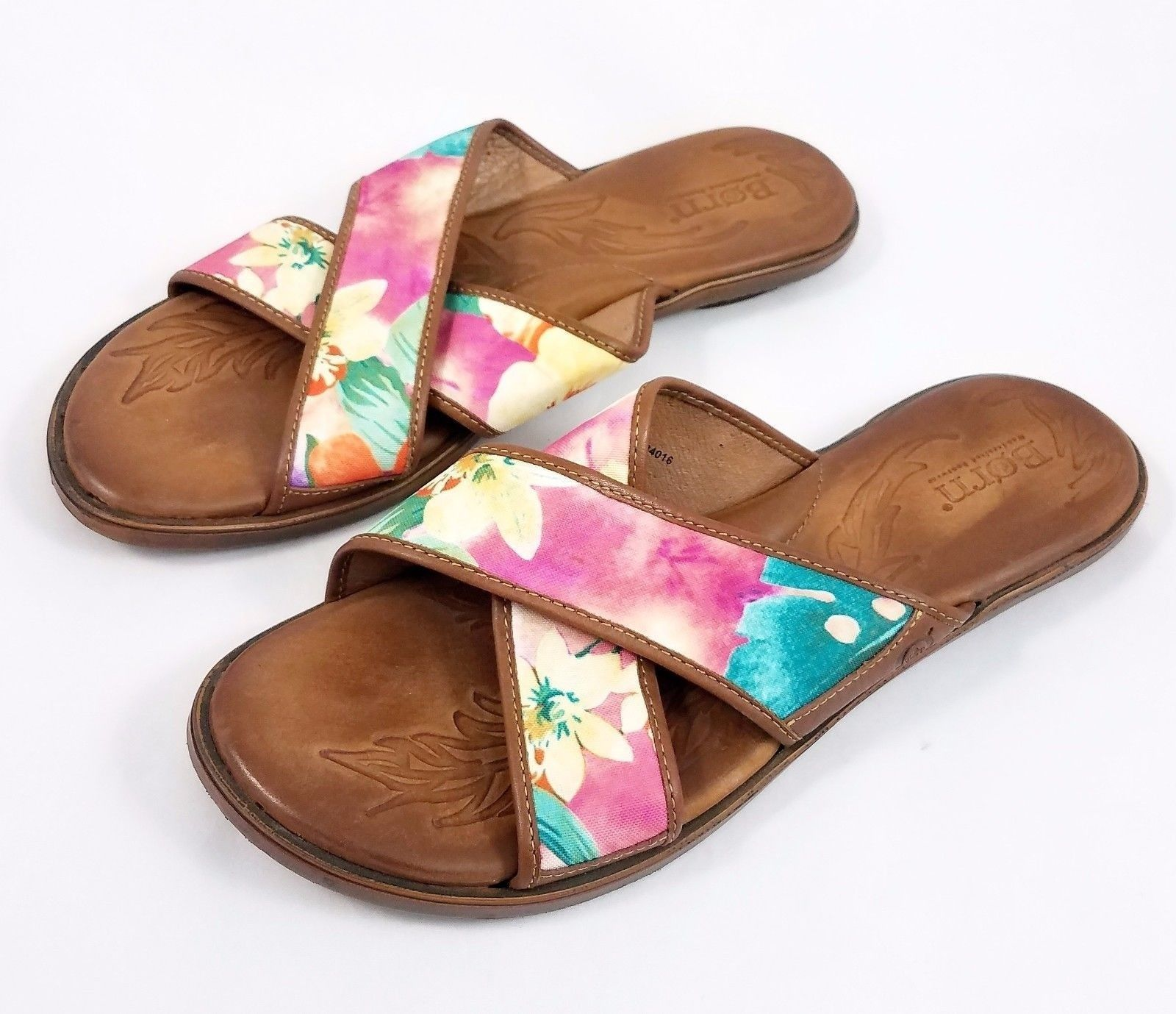 e529313cc5cb Born Brown Leather Multi Color Floral and 50 similar items