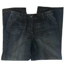 Talbots Stretch Wide Leg Jeans Women 14 - $24.74
