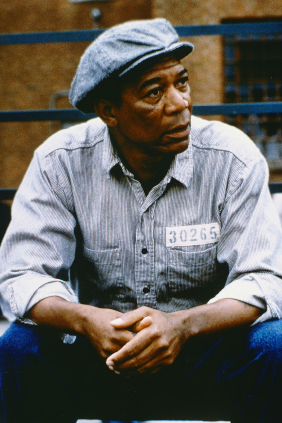 Primary image for Morgan Freeman The Shawshank Redemption 18x24 Poster