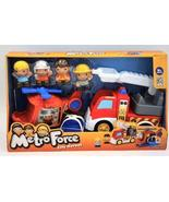 Keenway City Heroes Metro Force Fire Truck and Helicopter Play Set - $14.99