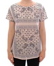 Dolce & Gabbana Beige Short Sleeve Blouse Tunic - $130.87