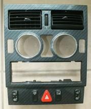 97-04 MERCEDES R170 SLK320 SLK230 CENTER DASH DOOR PANEL VENT CARBON TRI... - $247.01