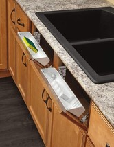Rev-A-Shelf - 6572-14-11-52 - 14 In. White Polymer Tip Out Sink Front Tr... - $20.19