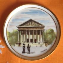 Antique Limoges France Decorating Hand Painted Plate La Madeleine Paris - $75.00