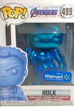 Funko POP Marvel Avengers Endgame HULK Chrome Blue #499 (WALMART EXC) Vinyl - $25.09